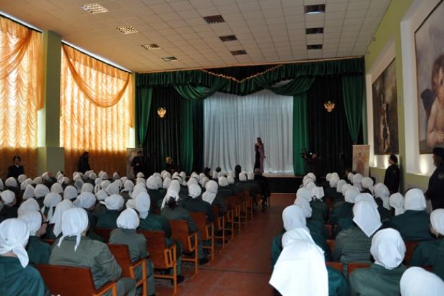 В калужской  колонии организовали центр исправления осужденных