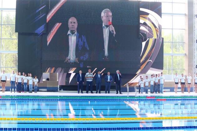 В Томске открылся центр водных видов спорта. Фото: tomsk.gov.ru