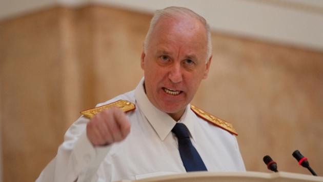 Александр Бастрыкин - глава следственного комитета Р.Ф.