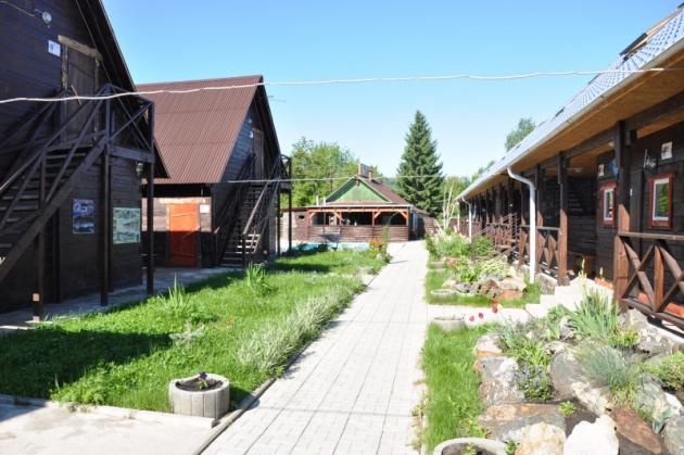 Алтайское село Ая