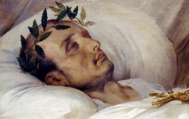 Орас Верне (Horace Vernet). Наполеон на смертном одре. 1826