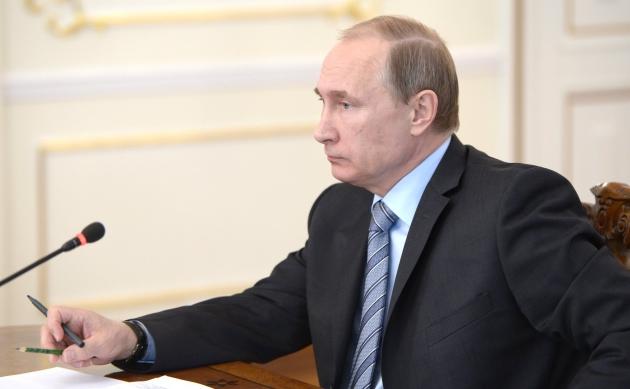 Владимир Путин - президент Р.Ф.