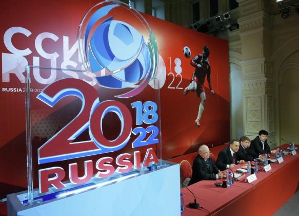 Путин и Блаттер устроят жеребьёвку ЧМ-2018 в Санкт-Петербурге