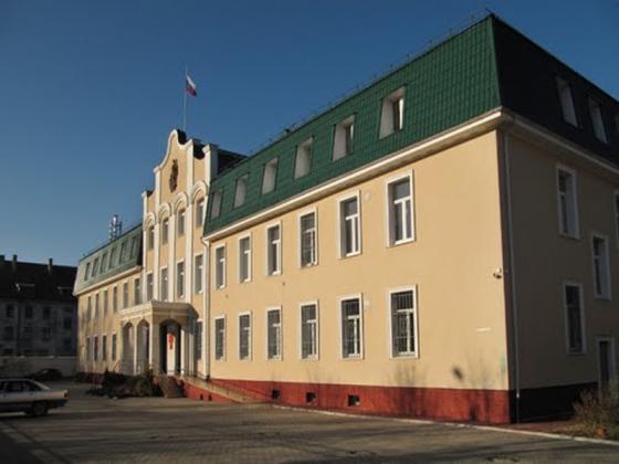 Балтийский флотский военный суд в Калининграде.