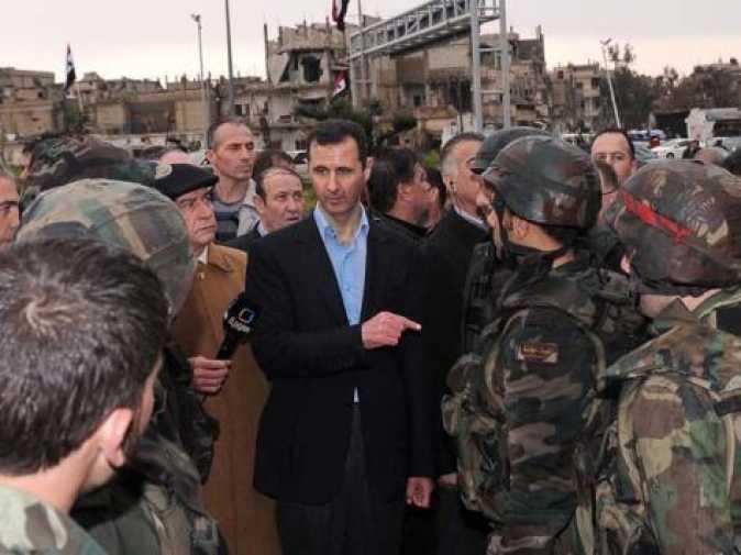Башар Асад— президент Сирии.