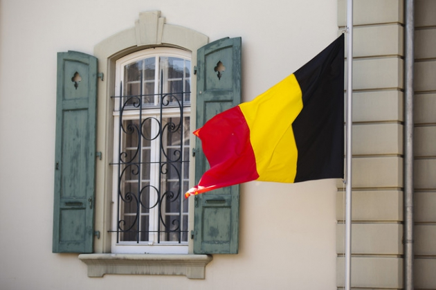 Флаг Бельгии.