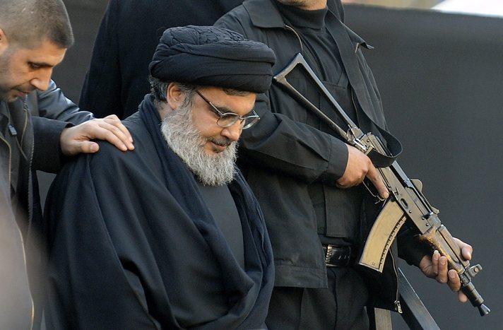 Хасан Насралла— лидер ливанской «Хезболлы»