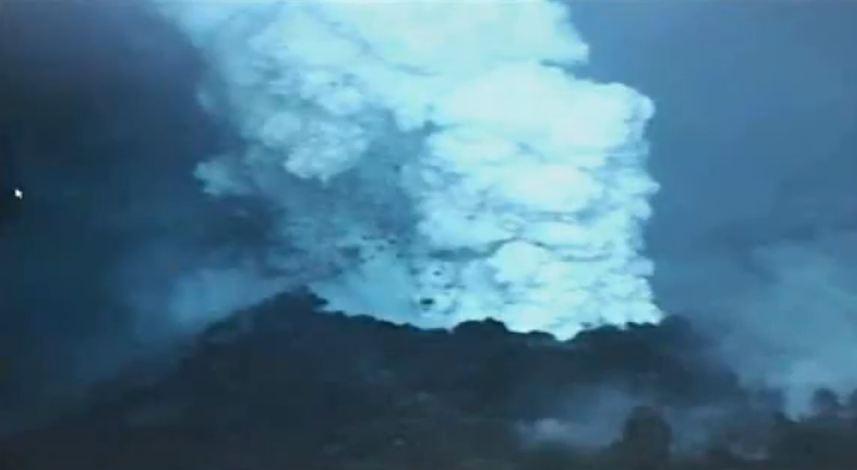 Подводный вулкан.