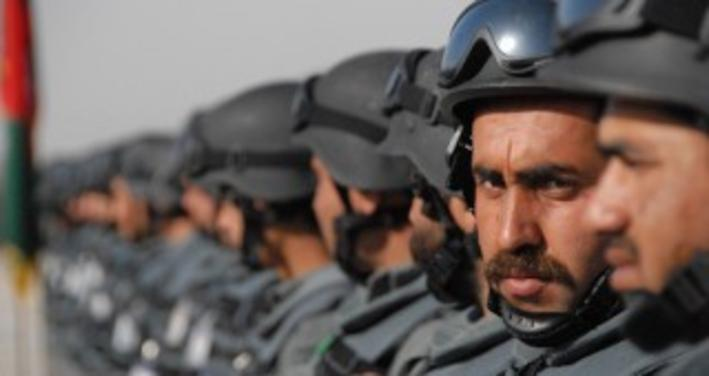 сотрудники  служб безопасности Афганистана.