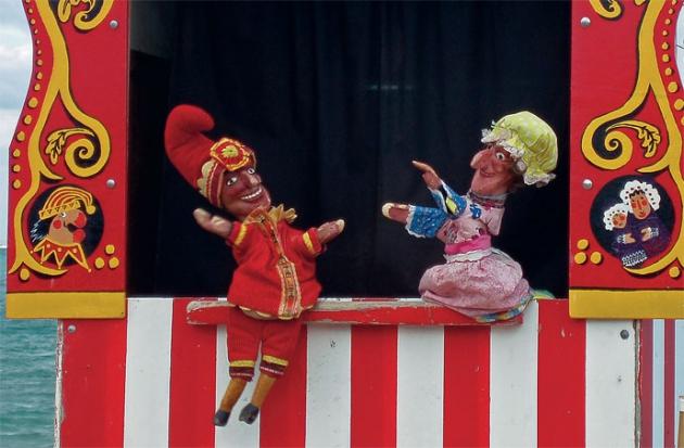 « Петрушка» Кукольный спектакль.