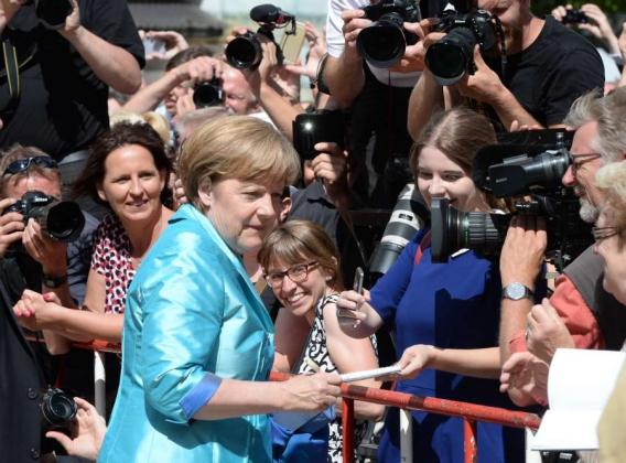 Ангела Меркель— канцлер Германии.