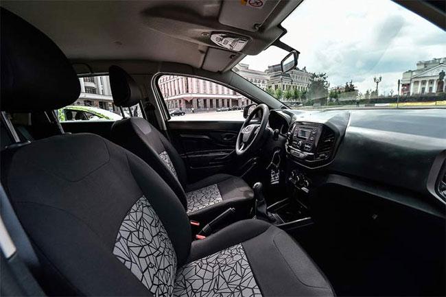 Интерьер серийной версии Lada Xray. Иллюстрация «АвтоВАЗ»