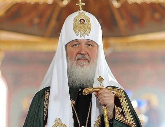 Святейший  патриарх Московский и всея Руси Кирилл.