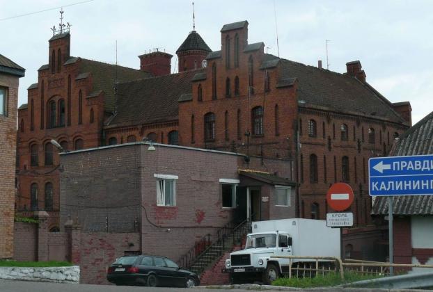 Колония №7 в г. Гвардейске, расположенная в средневековом замке Тапиау. Фото с сайта «Новости Гвардейска».
