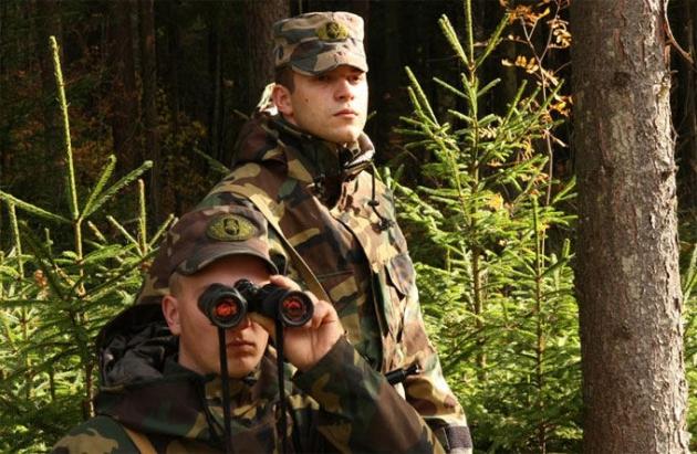 Литовские пограничники.