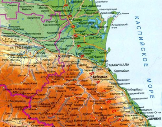 Новая «вертолетная атака» на Дагестан