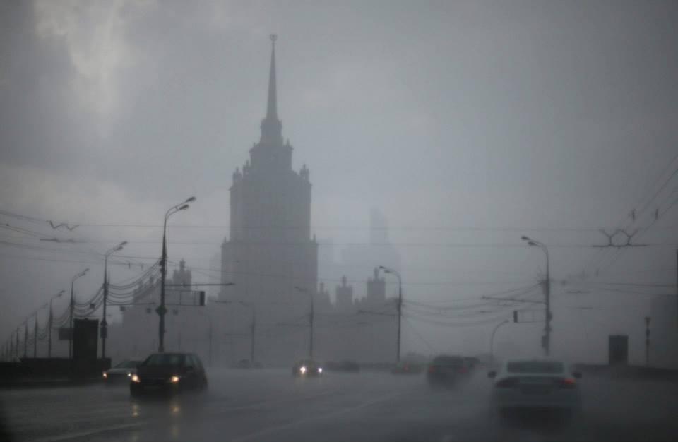 Москва штормовое предупреждение.
