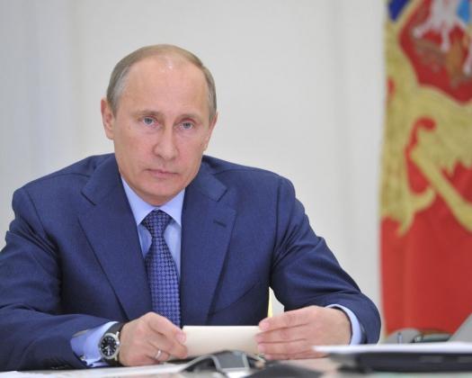 Владимир Путин— президент Р.Ф.