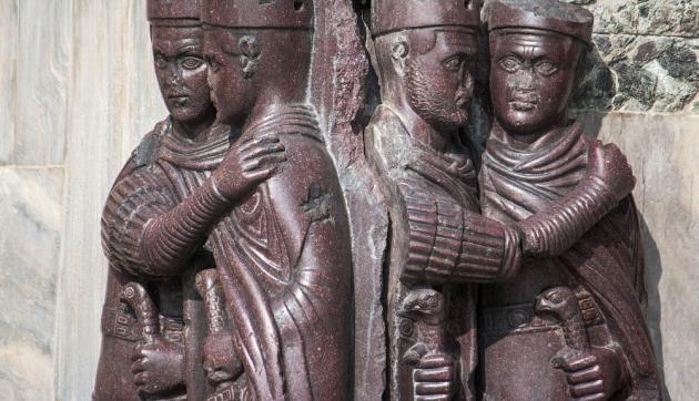 Тетрархи. Собор Сан-Марко. IV век