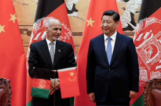 Китай успокаивает Афганистан ради Шелкового пути
