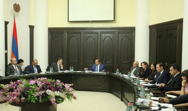 На заседании Совета по борьбе с коррупцией при правительстве Армениi. © Photolure