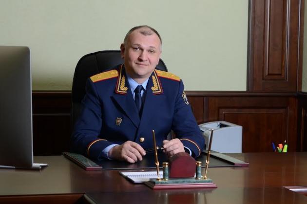 Андрей  Бунёв руководитель следственного управления Следственного комитета Российской Федерации по Иркутской области.