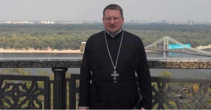 Священник Украинской православной церкви Московского патриархата (УПЦ МП) Роман Николаев,