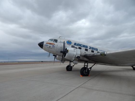 самолет «АЛСИБа-2015»