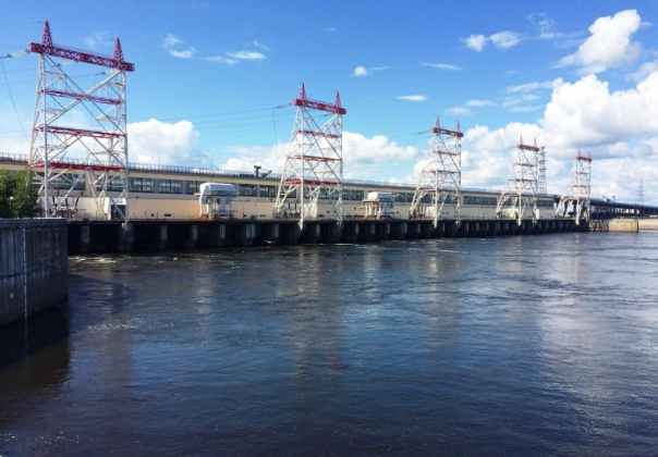 Чебоксарская ГЭС. Фото пресс-службы компании