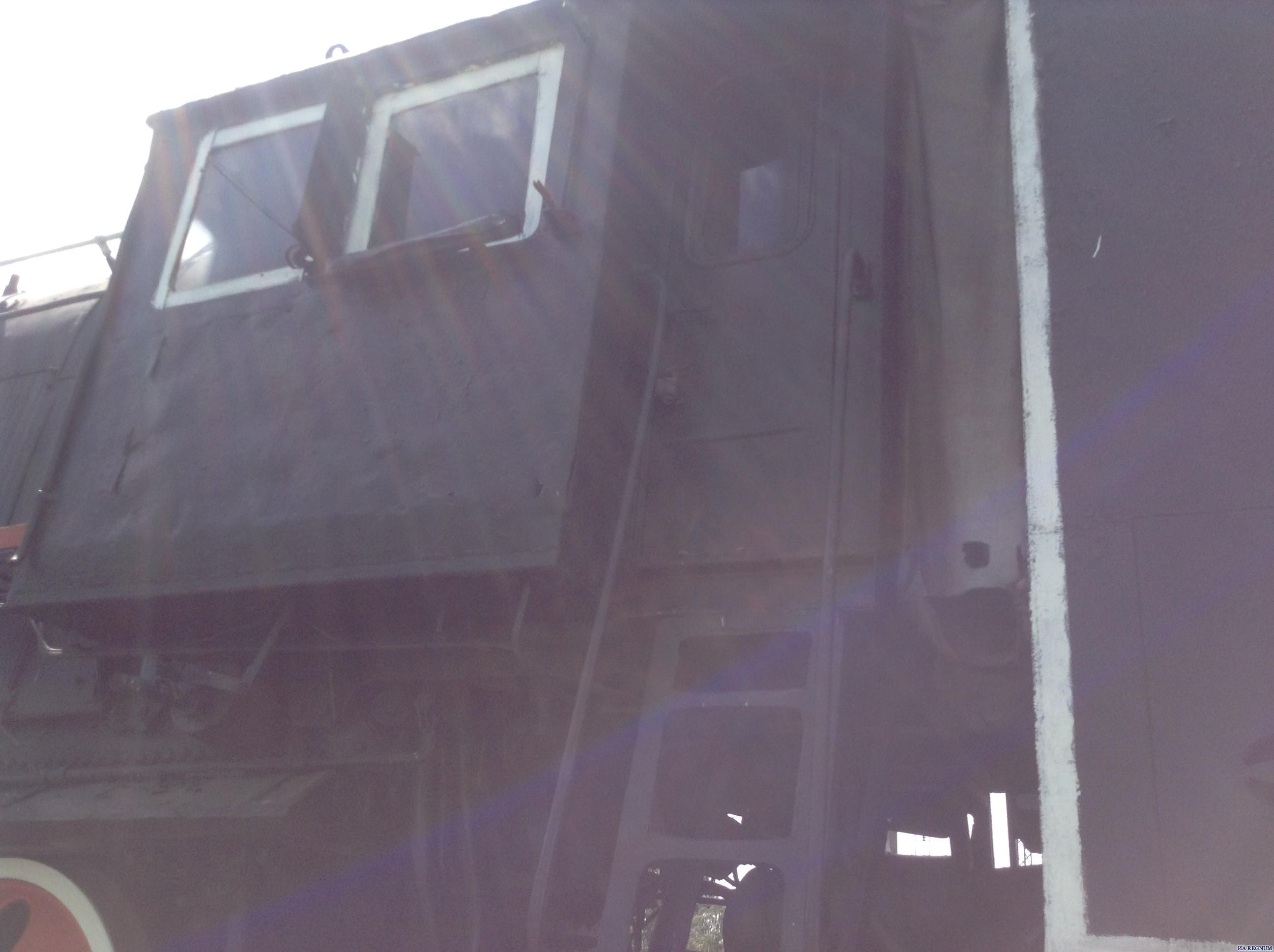 Паровоз Л-0186 в Барнауле
