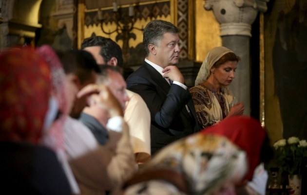Порошенко объявил создание поместной церкви «мечтой всех украинцев»