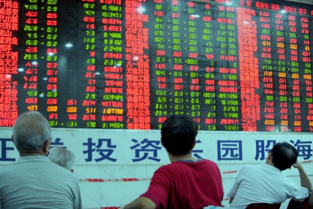 Китайский фондовый пузырь лопнул