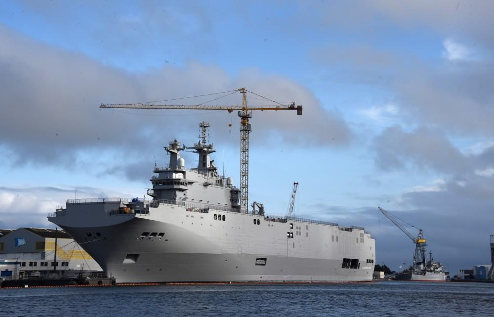 Универсальный десантный корабль типа «Мистраль».