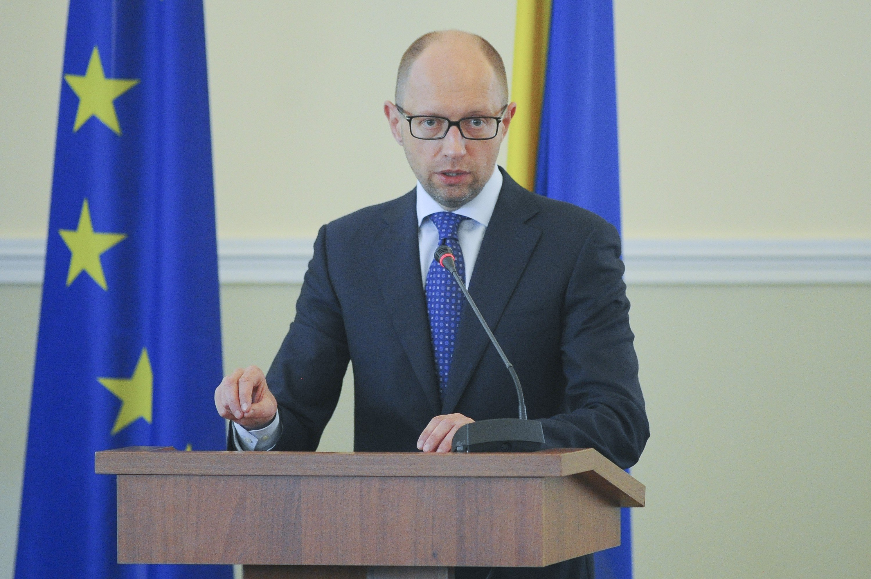 Премьер-министр Украины Арсений Яценюк.