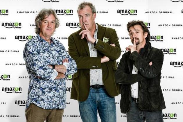 Экс-ведущие Top Gear будут вести новое шоу на Amazon