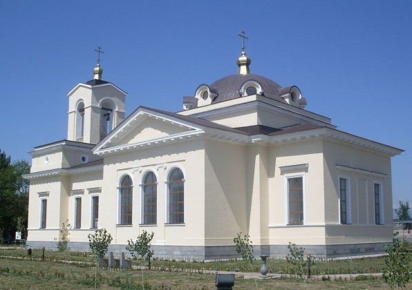 Реставрационные работы проводятся в храме российской военной базы в Армении