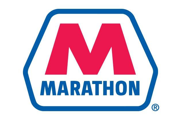 Логотип компании Marathon Oil (США, Техас).