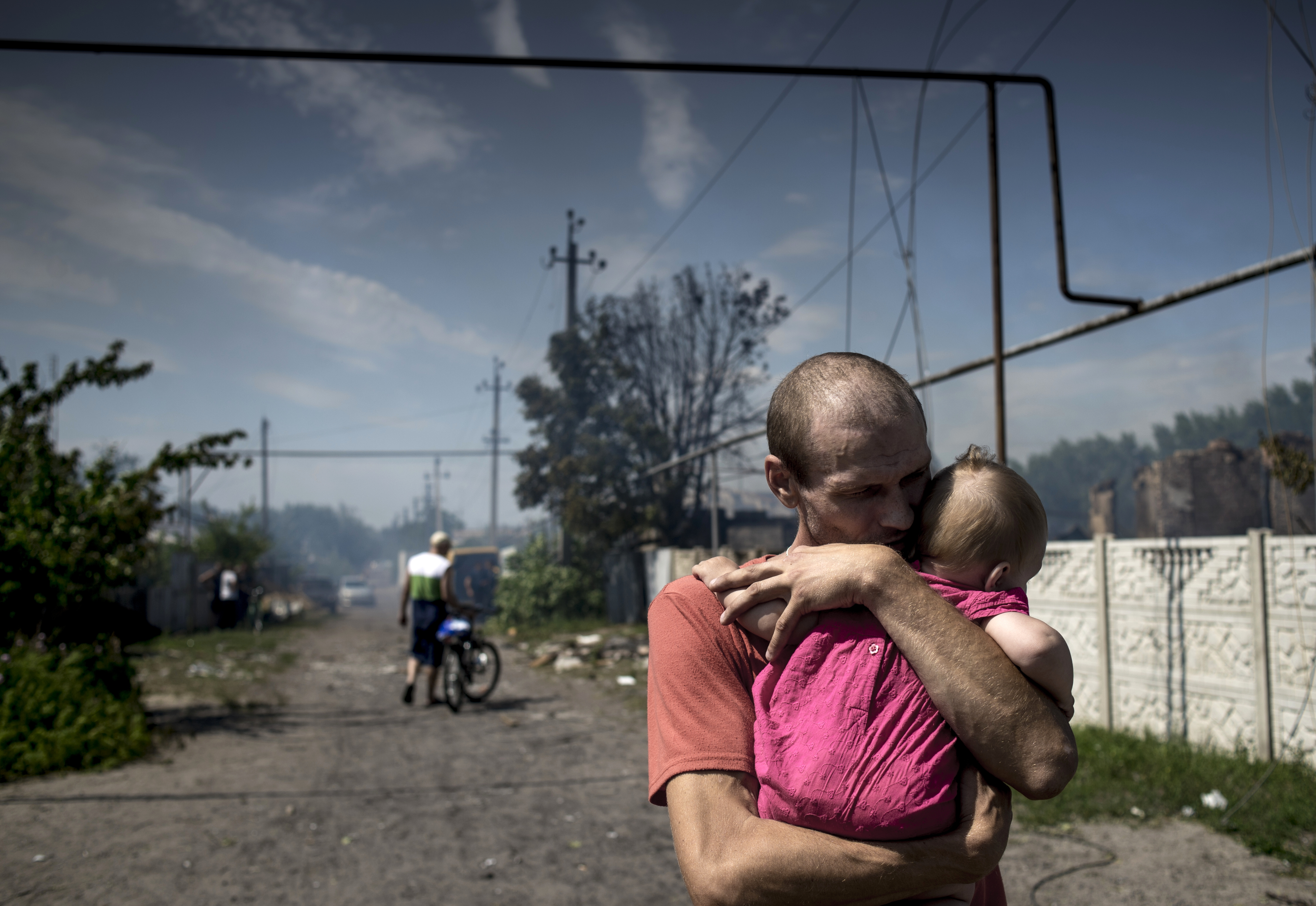 Жертвы военного конфликта в ДНР.
