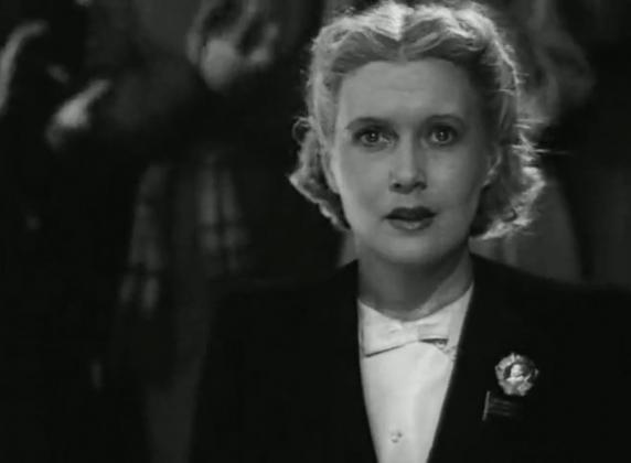 Кадр из фильма «Светлый путь», реж. Г. Александров, 1940 г.