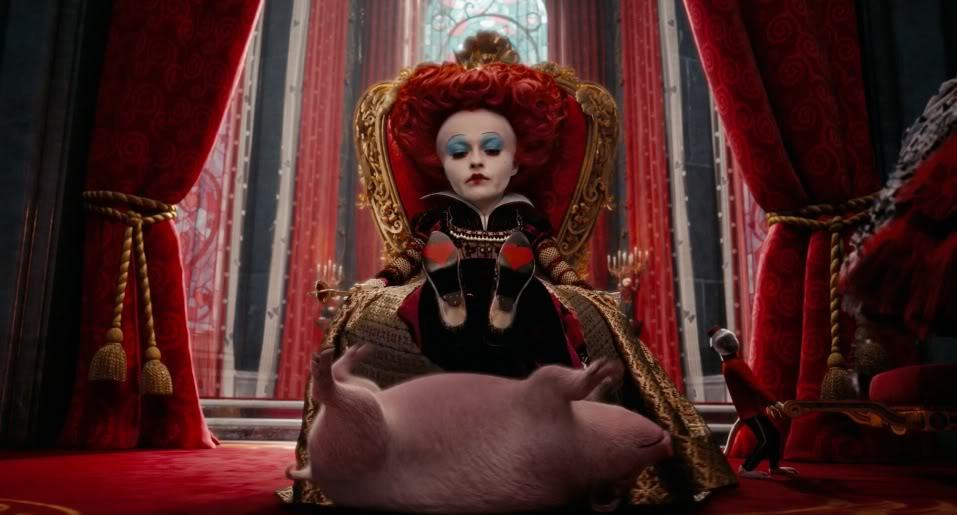 Кадр из фильма «Алиса в Стране чудес» (реж. Т. Бёртон, 2010)