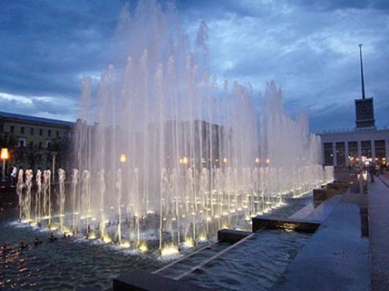 В день ВДВ в Петербурге отключат фонтаны