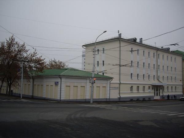 Здание Центрального исторического архива Бшкирии (фото с сайта ЦИА РБ)