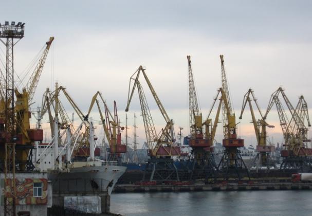 Морской порт Севостополя.