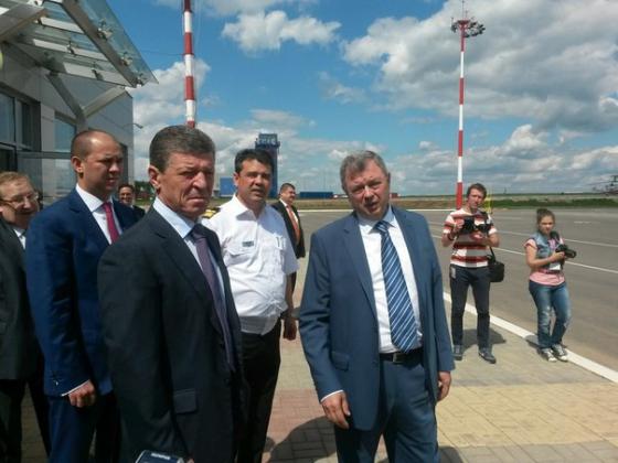 Дмитрий Козак посетил Калугу с рабочим визитом