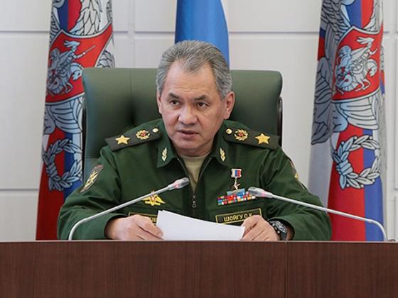 Сергей Шойгу — министр обороны Российской Федерации