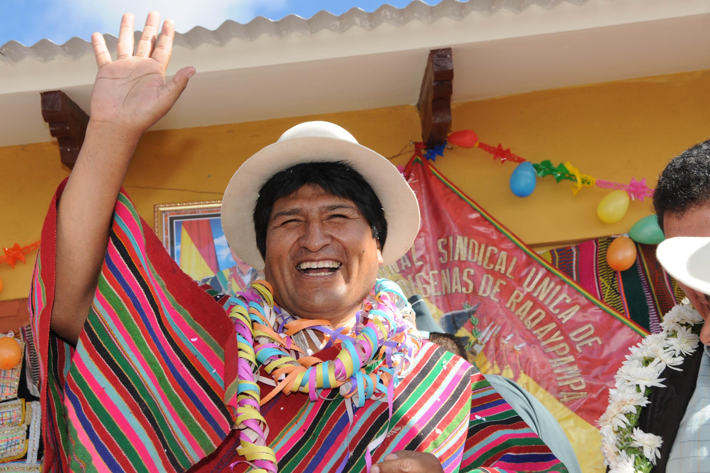 Эво Моралес — президент Боливии.