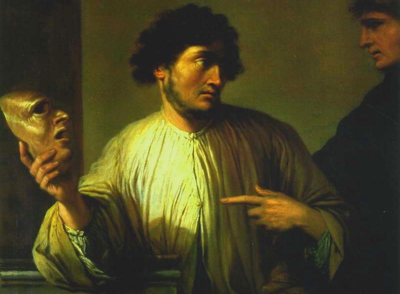 Сальватор Роза. Аллегория лжи (1640-е)