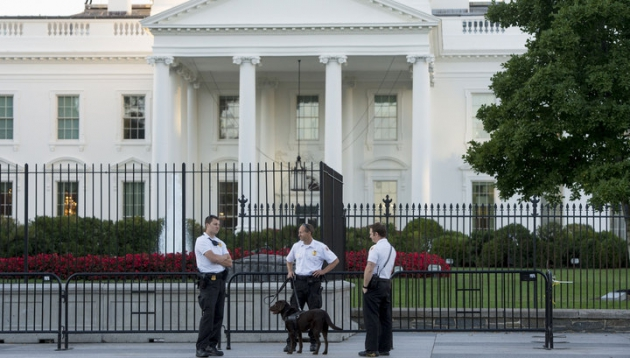 Охрана Белого дома.