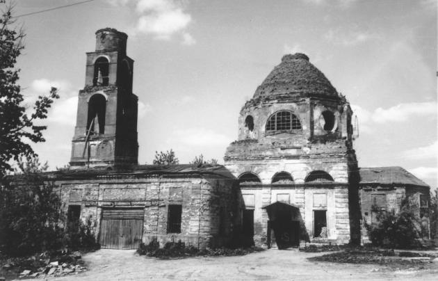 Покровский храм в селе Недельном, 1990 г.