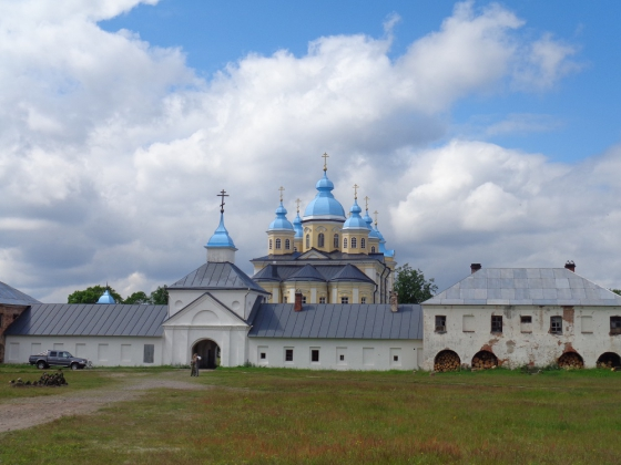 Коневской мужской монастырь.